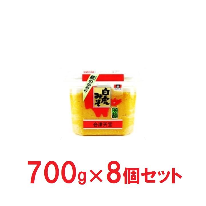 福島【会津天宝】カップ白虎みそ×8の商品画像