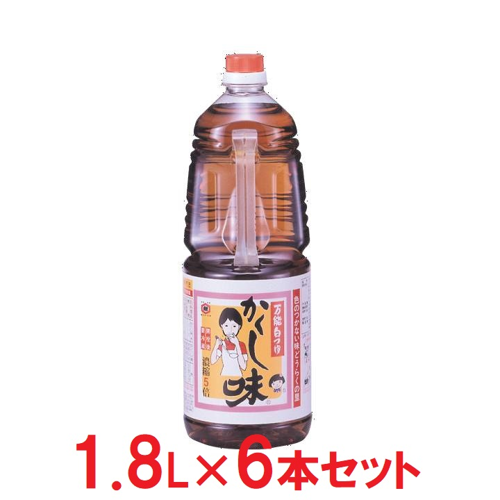 秋田【東北醤油】かくし味×6の商品画像