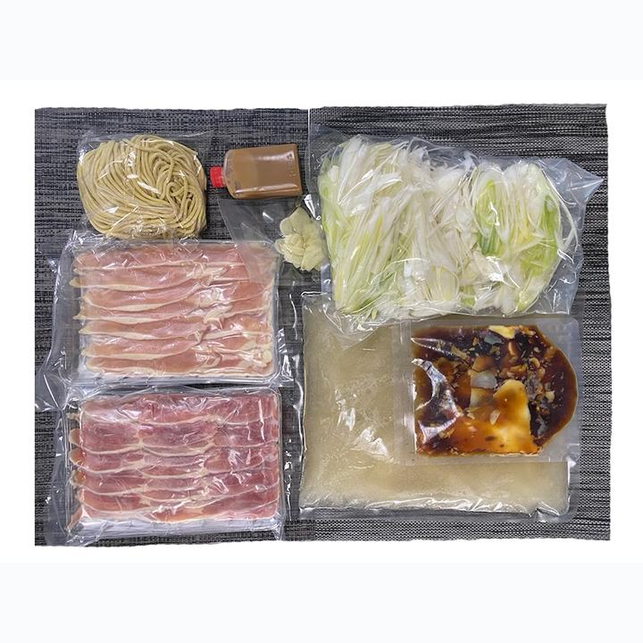 [秋田]元氣屋 比内地鶏しゃぶしゃぶセット2~3人の商品画像