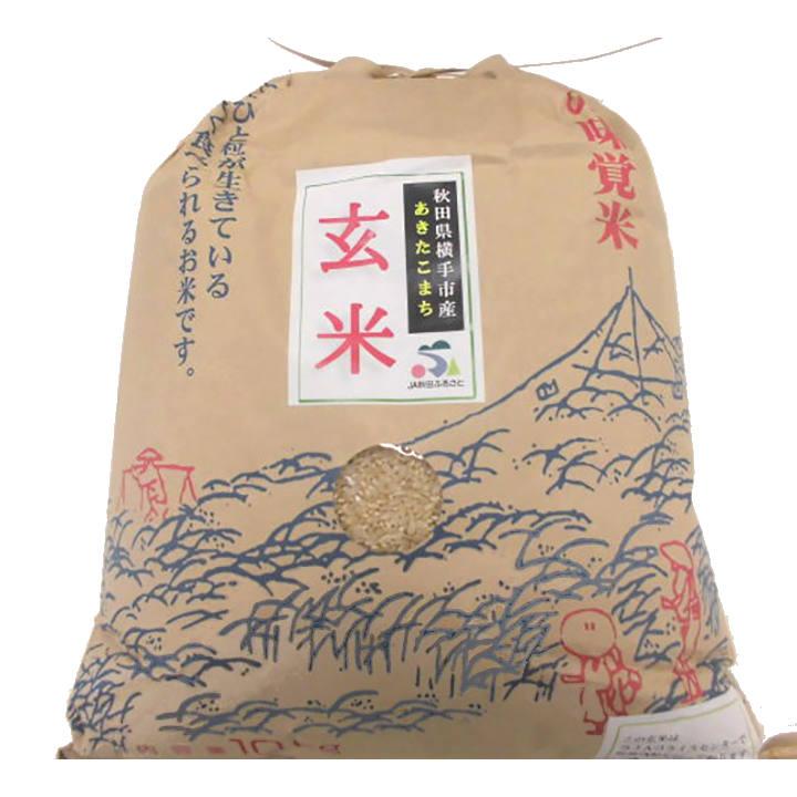 [秋田]あきたこまち 玄米 10㎏の商品画像