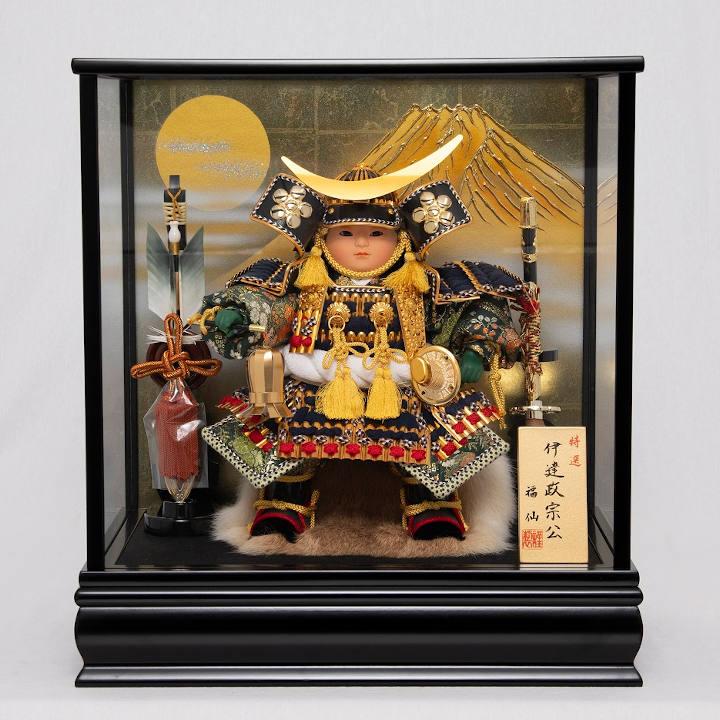 [福仙]「新伊達政宗公」大将ケース飾りの商品画像