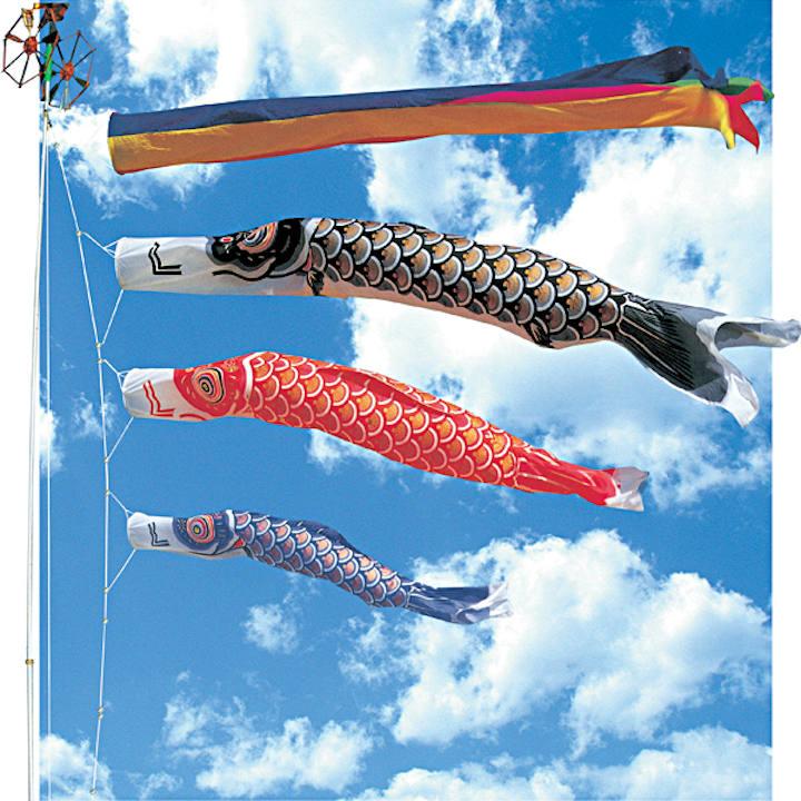[福仙]ゴールド鯉DX5m6点セット(名入なし)の商品画像