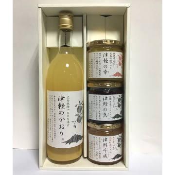 [青森]成田農園 りんご加工品 Aセットの商品画像