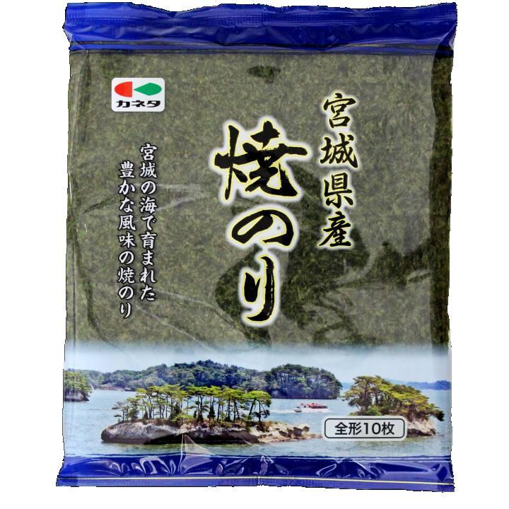 【カネタ】宮城県産 焼き海苔 10枚の商品画像