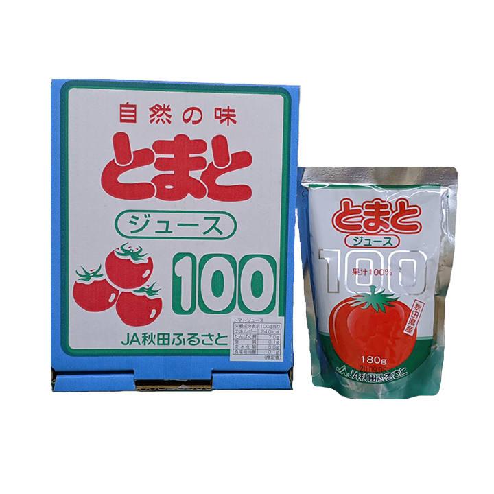 秋田【JA秋田ふるさと】果汁100% トマトジュース 箱の商品画像