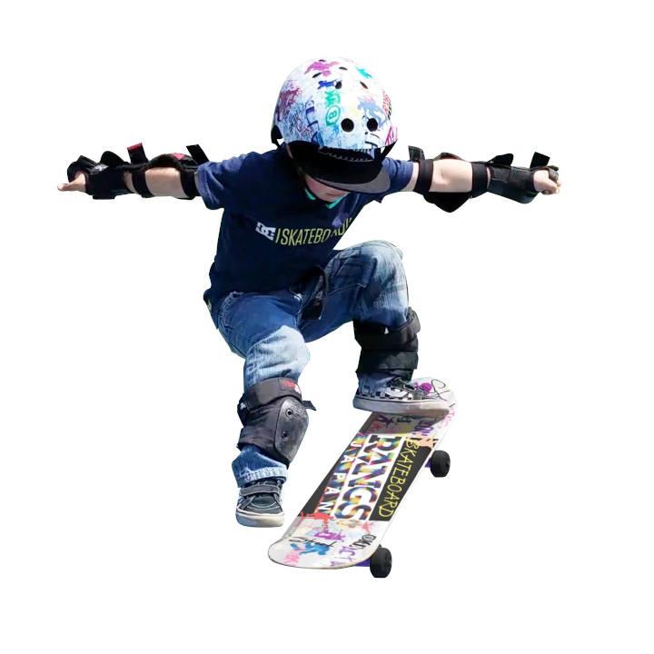 [ラングスジャパン]ラングスR1スケートボード パープル*外遊び用の商品画像