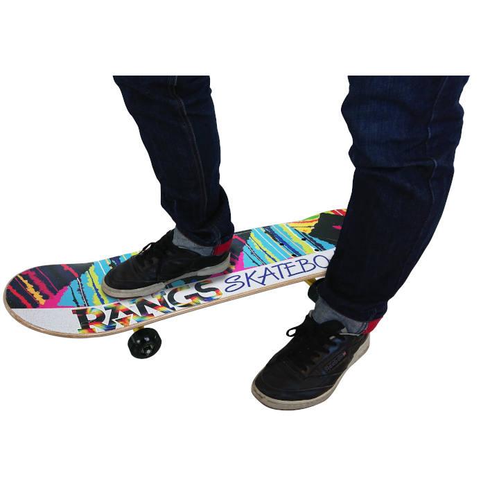 [ラングスジャパン]ラングスR1スケートボード イエロー*外遊び用の商品画像