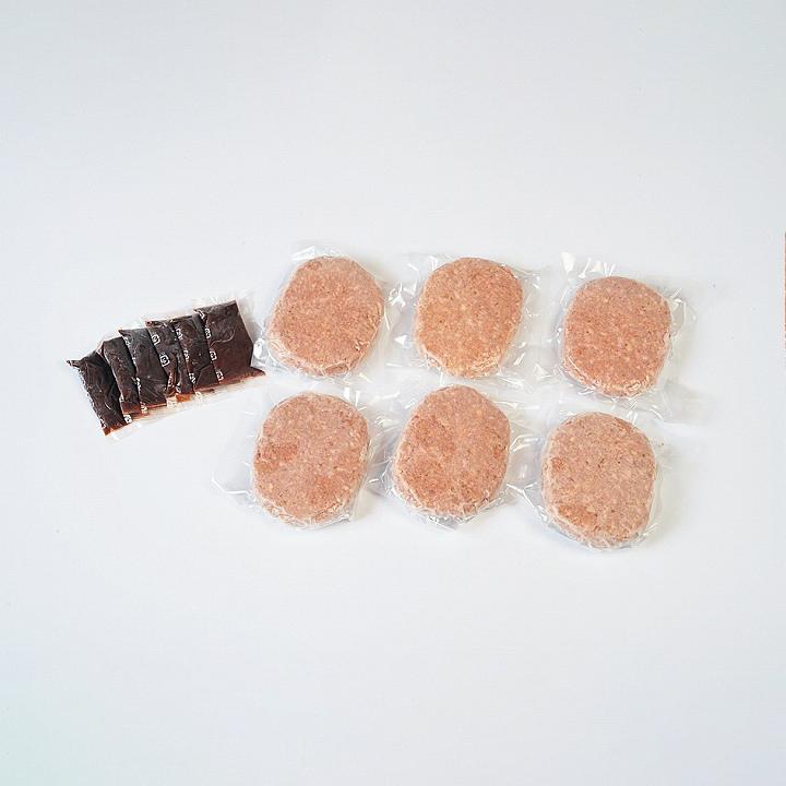 [前沢牛オガタ]前沢牛ハンバーグ 6個入【送料込】の商品画像