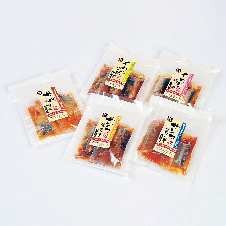 [三陸おのや]やわらか煮魚セット【送料込】の商品画像