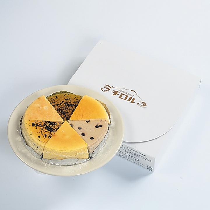チロル濃厚チーズケーキバラエティパック【送料込】の商品画像