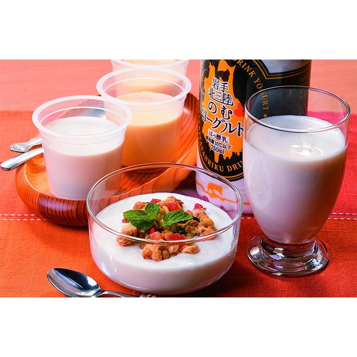 岩手[(株)おおのミルク工房]おおのミルク村北三陸乳製品セット【送料込】の商品画像
