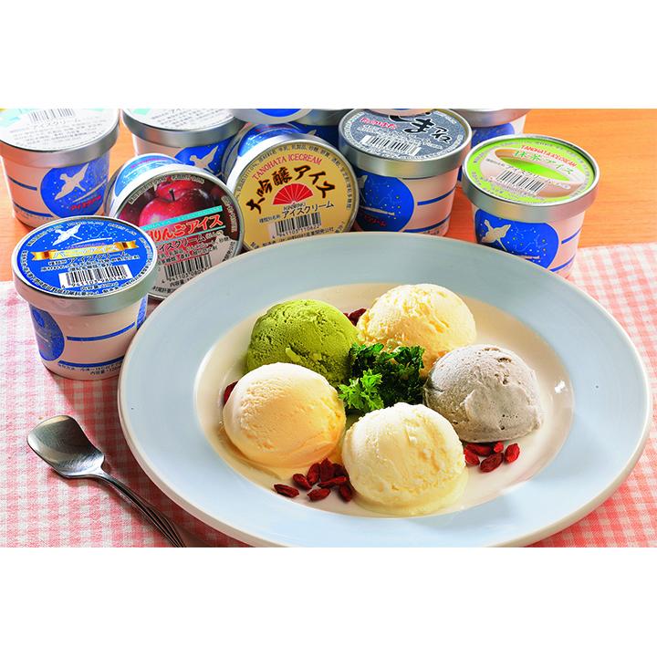 [(一社)田野畑村産業開発公社]たのはたアイスクリームセット【送料込】の商品画像