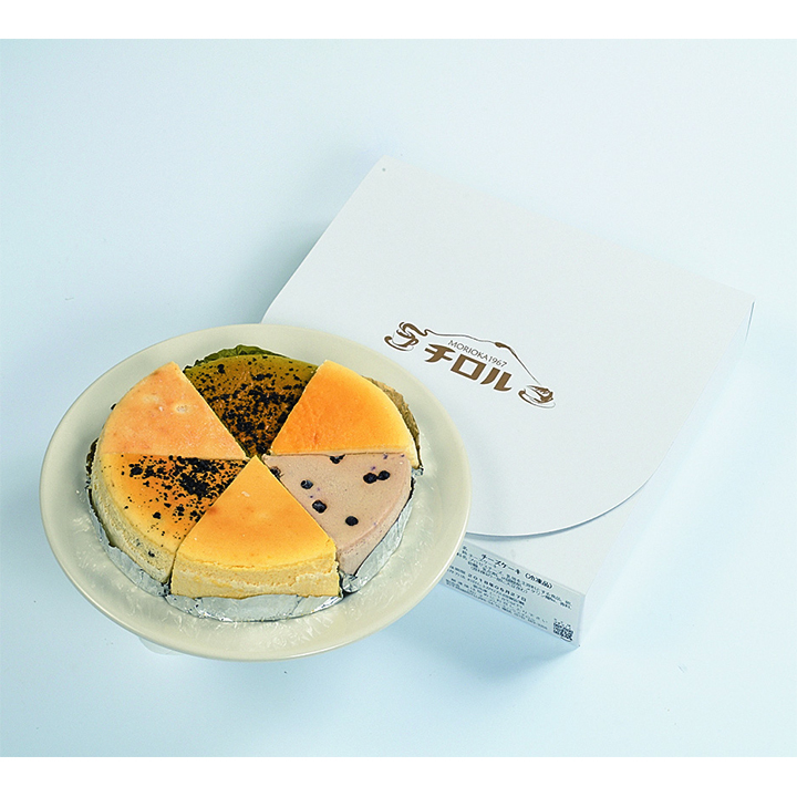 岩手[(有)チーズケーキハウスチロル]濃厚チーズケーキバラエティ-パック【送料込】の商品画像