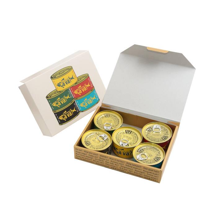 [岩手]サヴァ缶 5種類セット 国産サバのオリーブオイル漬け、レモンバジル味、パプリカチリ味、アクアパッツア風、ブラックペッパーの商品画像 (3)