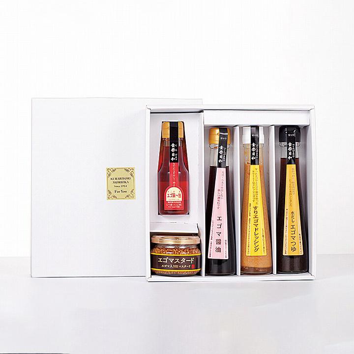 [浅沼醤油店]エゴマ調味料Eセットの商品画像