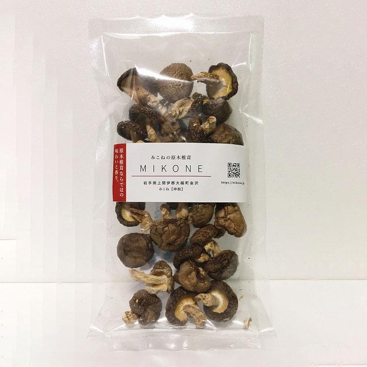 原木乾燥椎茸(小粒)の商品画像