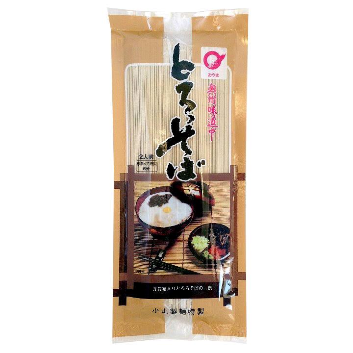 [岩手]小山製麺 味道中とろろそばの商品画像