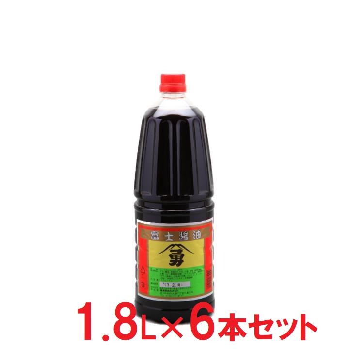 岩手【藤勇醸造】富士醤油 1.8L×6の商品画像