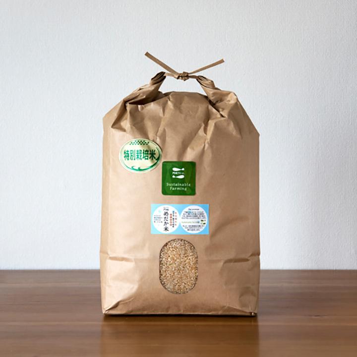 [岩手:門崎ファーム]めだか米 5kg 玄米の商品画像