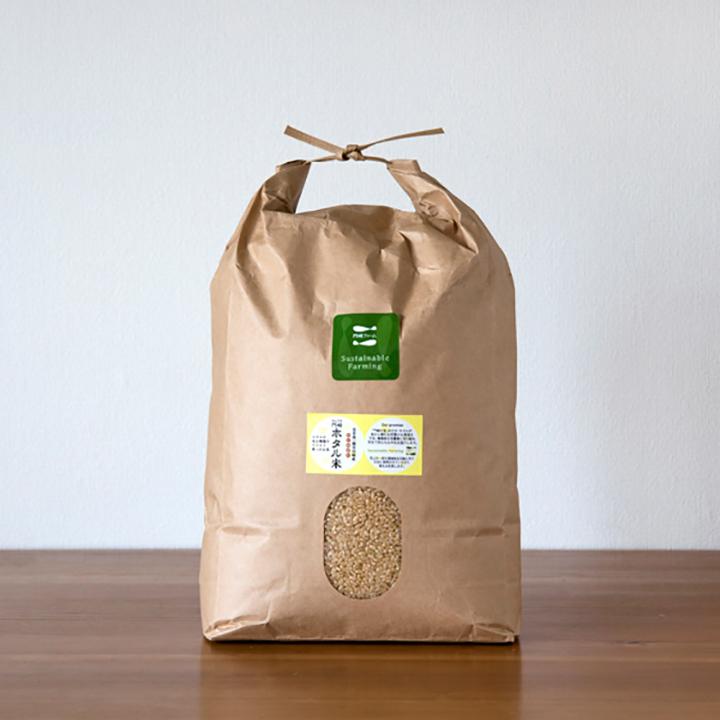 [岩手:門崎ファーム]ホタル米 5kg 玄米の商品画像
