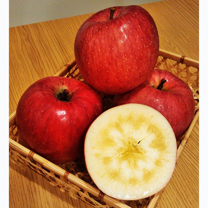 [青森]弘前市 ほほえみりんご農園 樹上完熟リンゴMix 2L~3L  3kgの商品画像